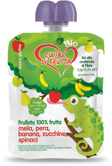 merenda-di-frutta-cama-mela-pera-banana-zucchine-spinaci