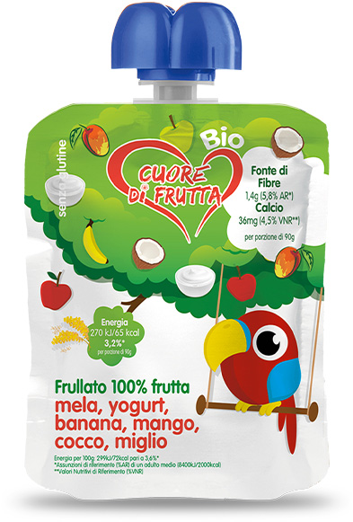 merenda-di-frutta-pappa-mela-yogurt-banana-mango-cocco-miglio